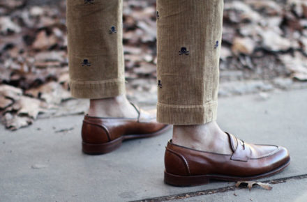chaussures style preppy