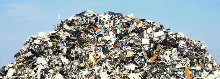 monceau d ordures