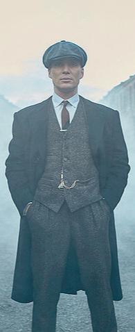 Le costume trois pièces de Shelby