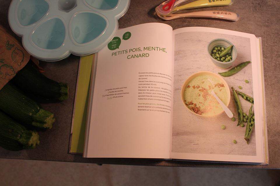 livre recettes cuisine pour bébé