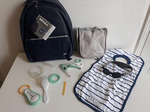 premières vacances avec bébé pack nomade béaba