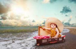 préparer la valise de bébé