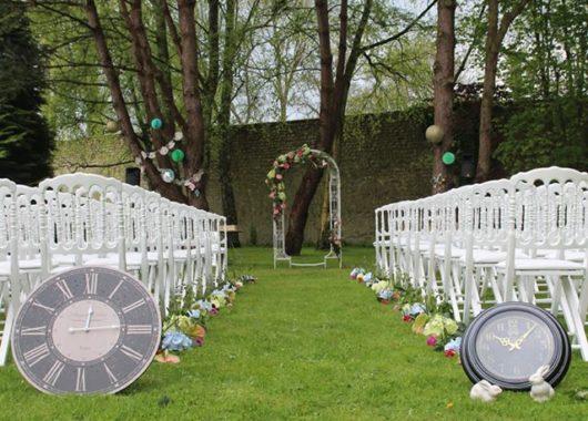 décorations mariage alice au pays des merveilles