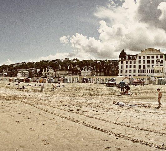 plage pays d'auge trouville