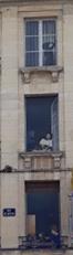 façade Caen trompe l'oeil