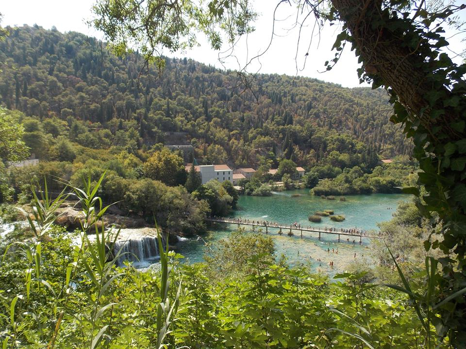 chutes de Krka national park