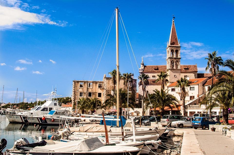 port de bol croatie