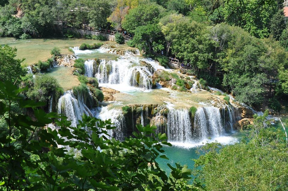 les chutes de krka park national