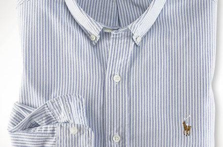 chemise look preppy