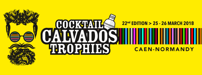 affiche cocktail calvados trophies