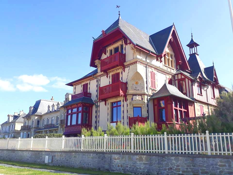 balade en normandie la delicate villa