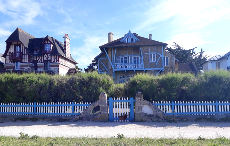 villas cote de nacre bord de mer
