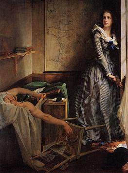 charlotte corday assassinat de Marat