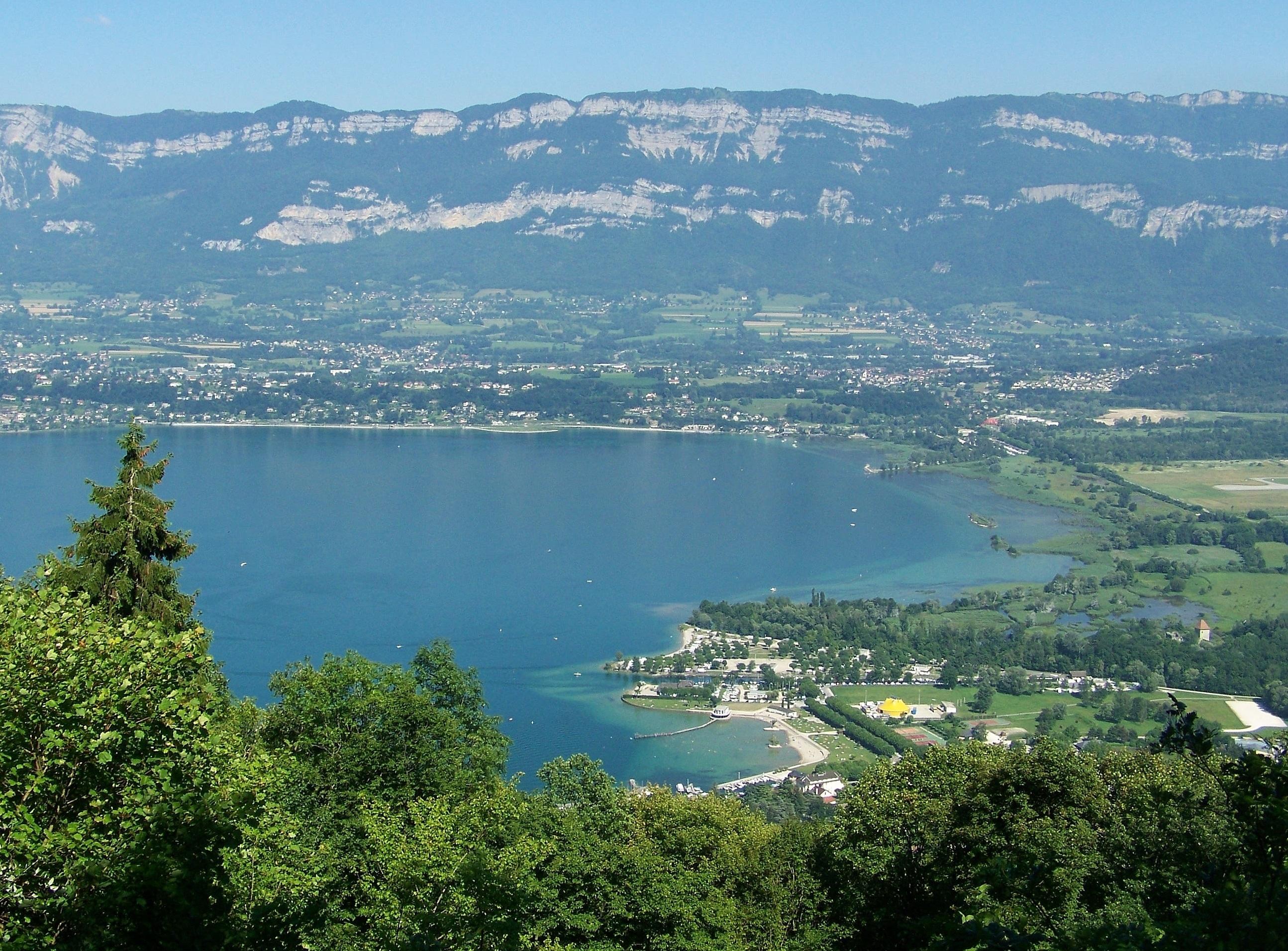 la Savoie et le Lac du Bourget