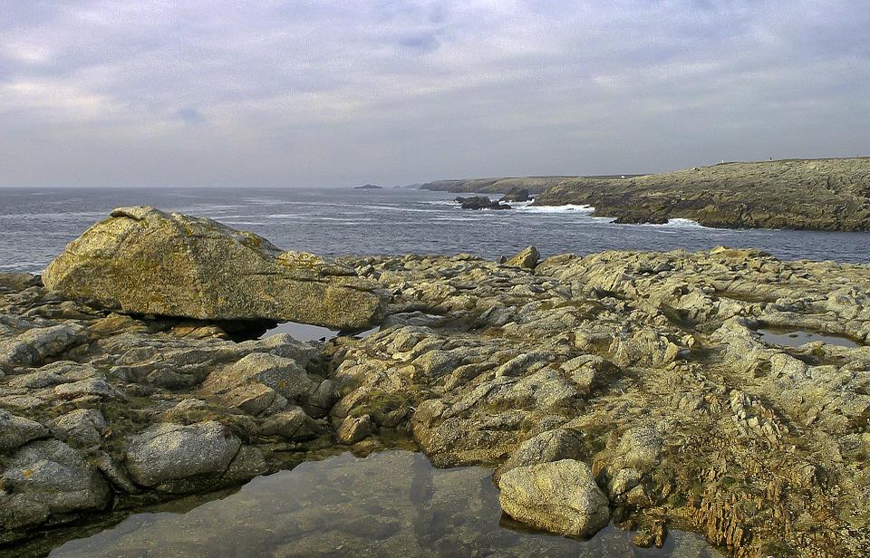 presqu'île de Quiberon en Bretagne