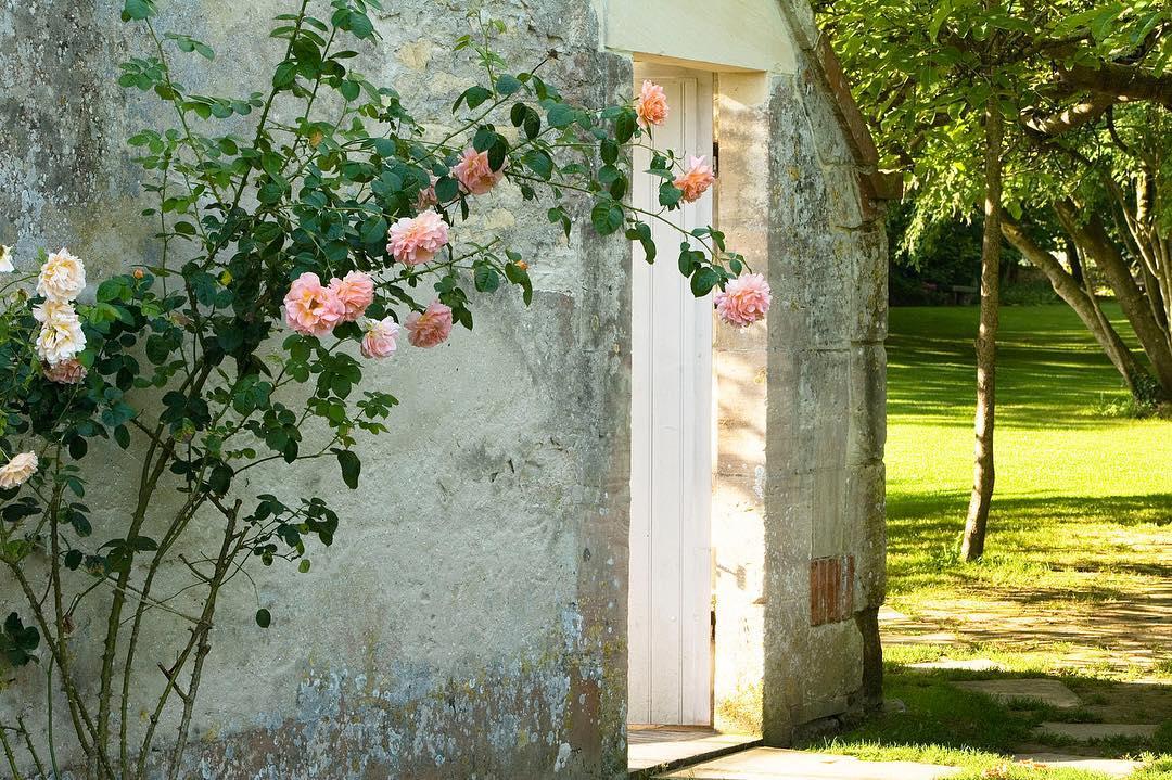 Jardin du château de La Chenevière