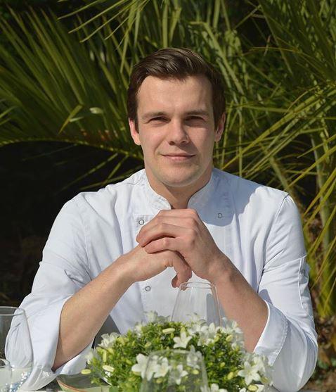 chef Hugo Genty Le petit jardin