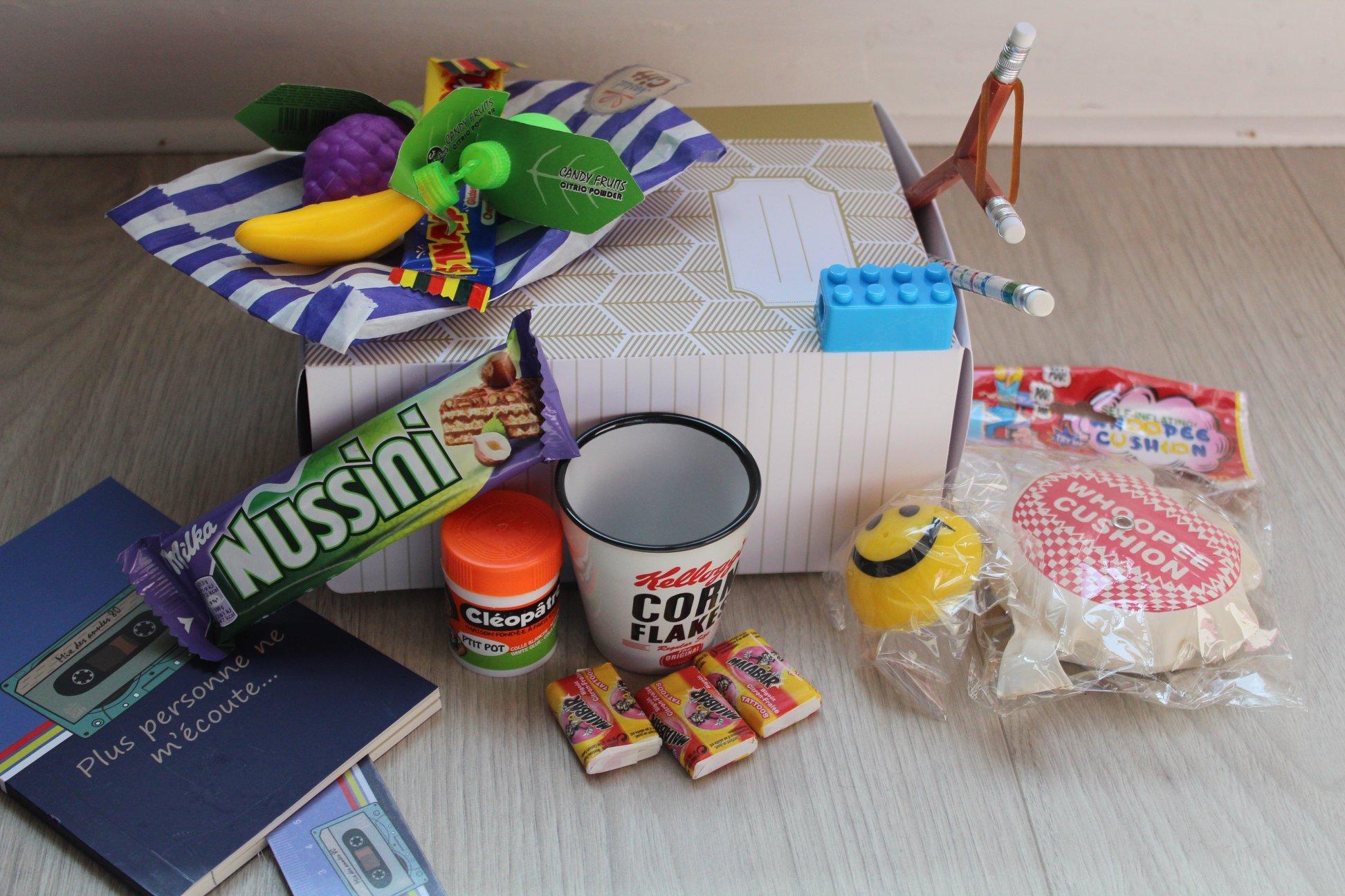 Avis Nostalgift La box Sur les bancs de l'école