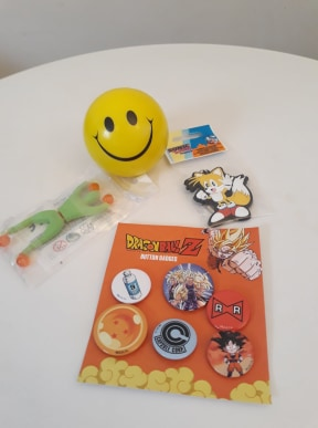 badges Dragon Ball box nostalgift