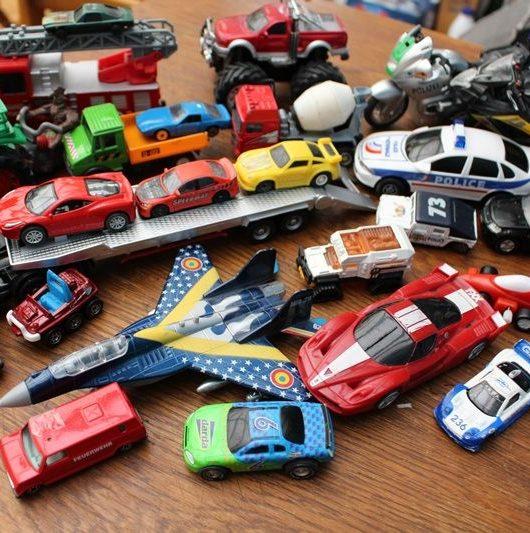 jouets en vrac