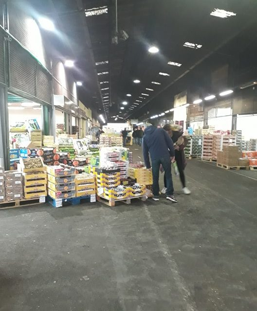 photo halle de caen marché de gros