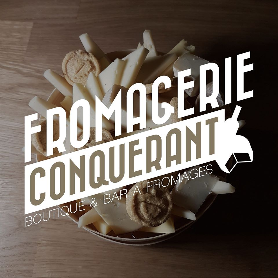 logo fromagerie conquerant Caen