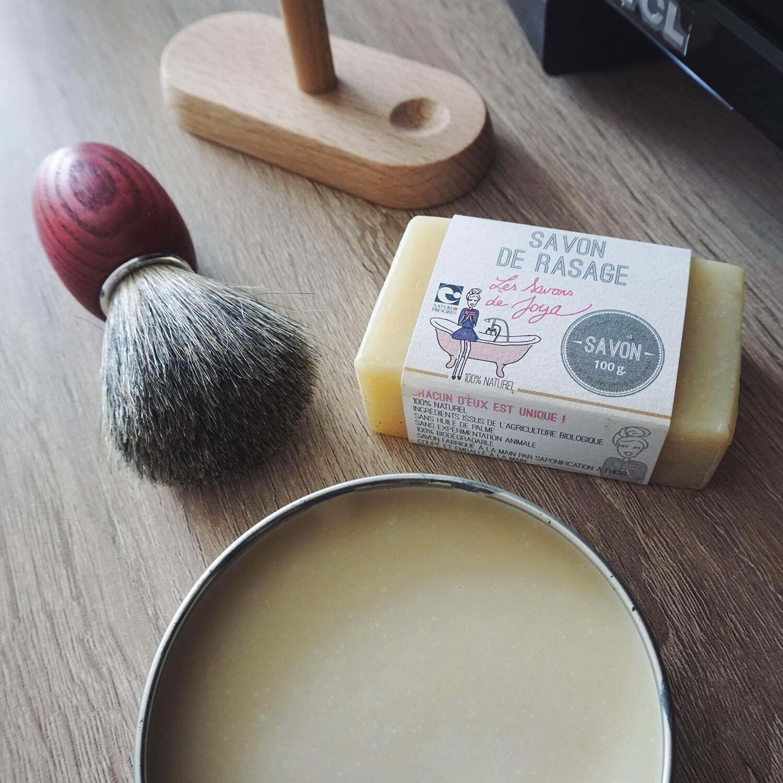 savon à barbe naturel et bio Les Savons de Joya