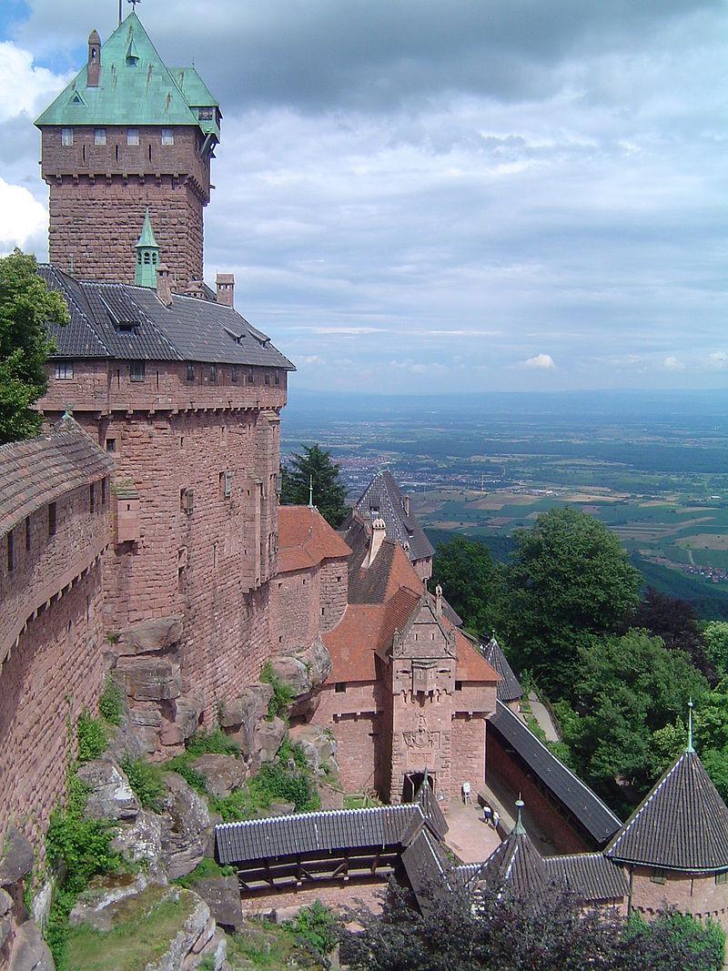 Haut-Koenigsbourg que visiter en alsace