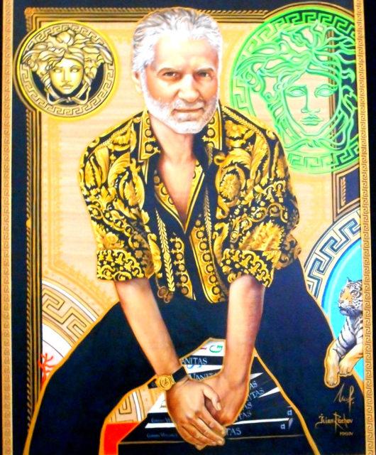 Gianni Versace tableau