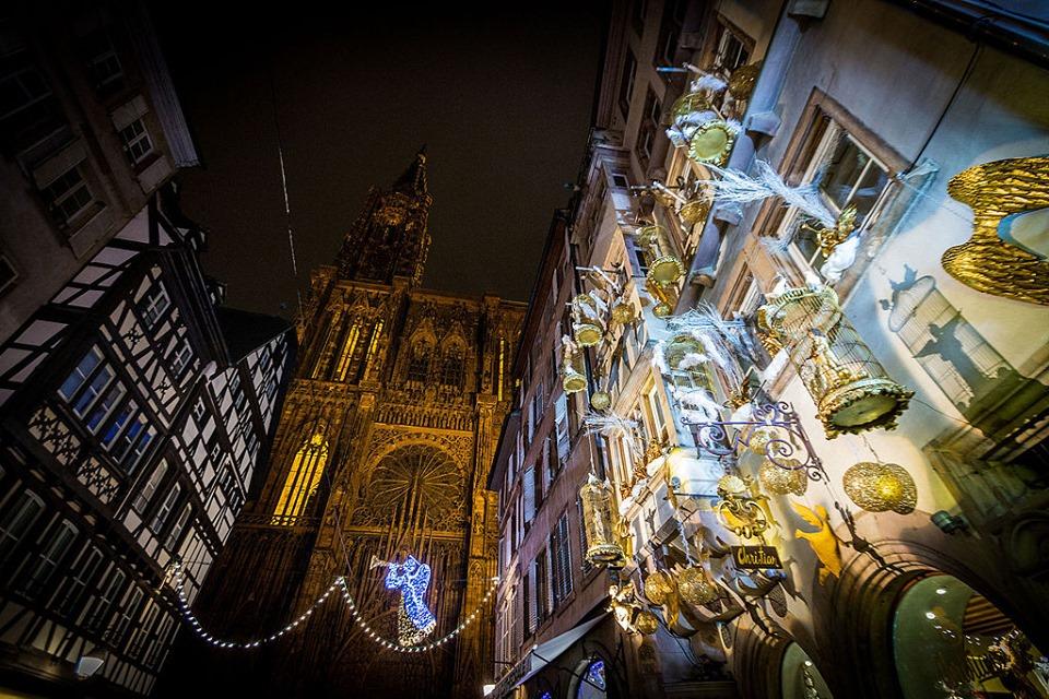 strasbourg cathedrale marche de noel