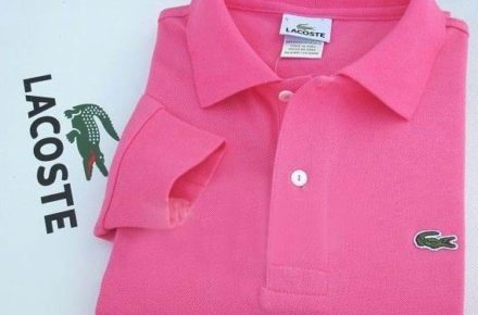 polo lacoste rose mode ete