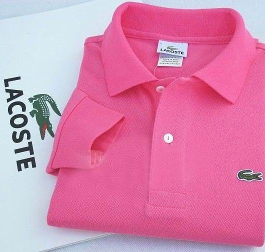 polo lacoste rose mode