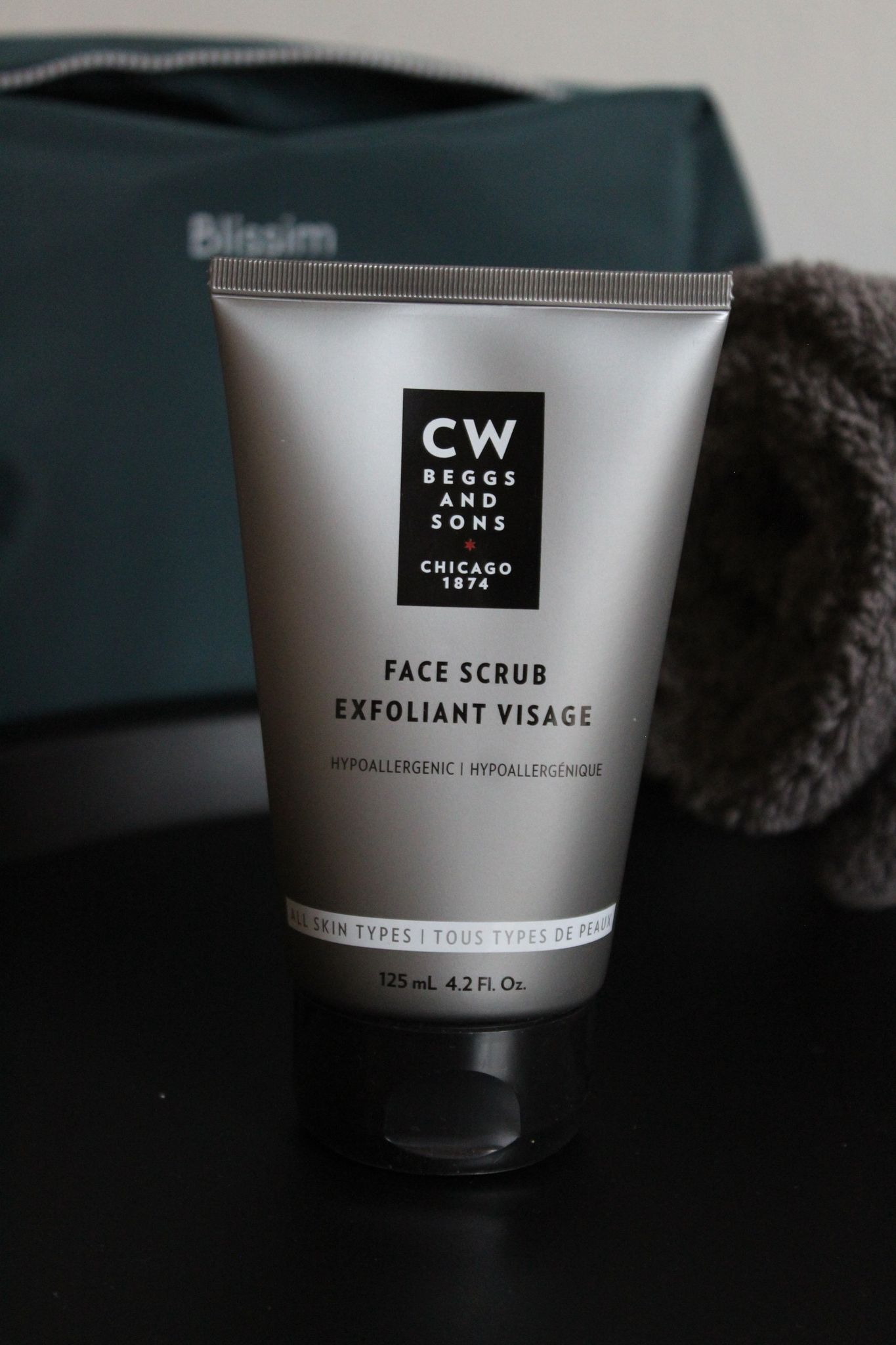 Le soin exfoliant visage de CW Beggs & Son