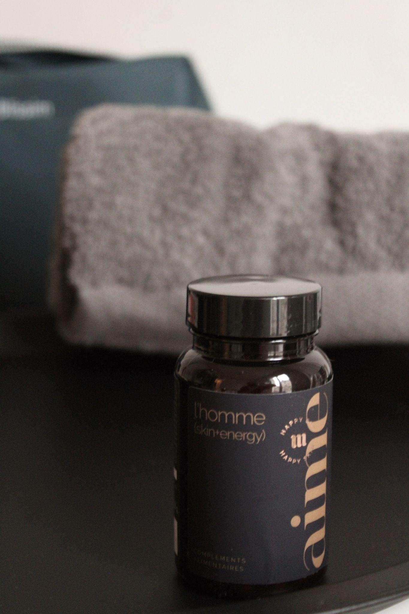 compléments alimentaires L'homme skin+energy Aime Skincare