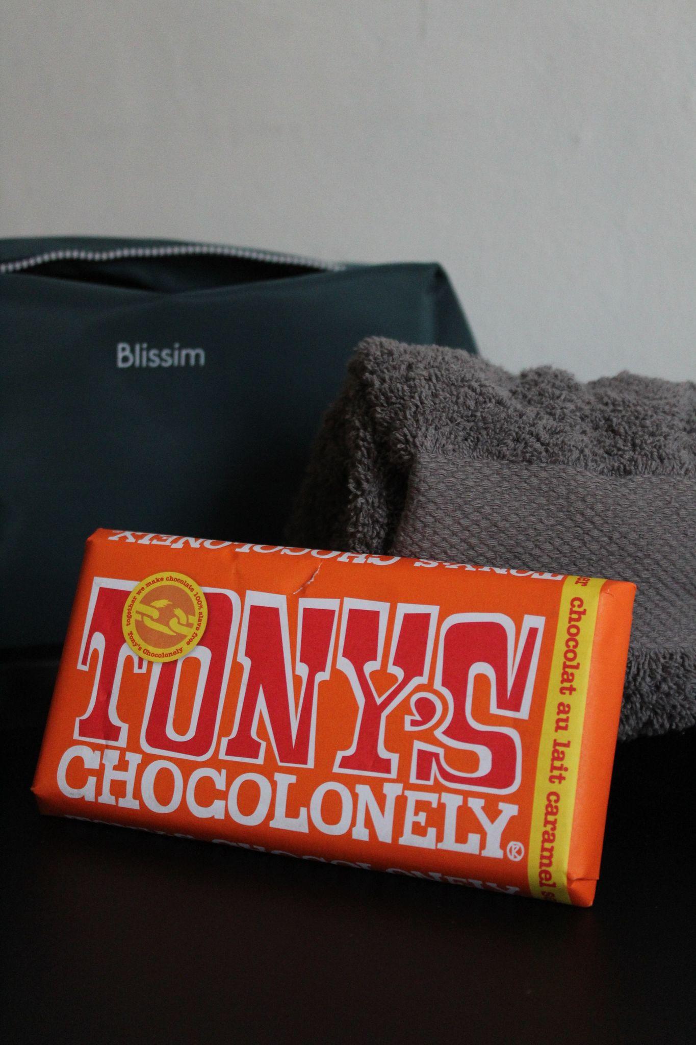 tablette de chocolat caramel Tony's Chocolonely
