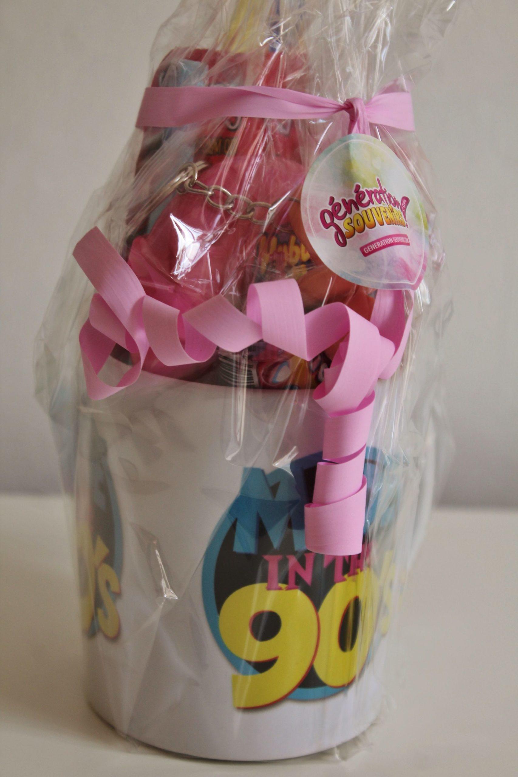 mug made in 90 et ses bonbons vintage
