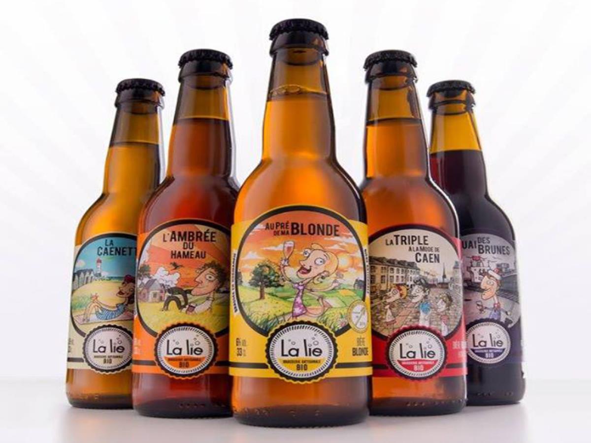 bières artisanales bio brasserie La Lie