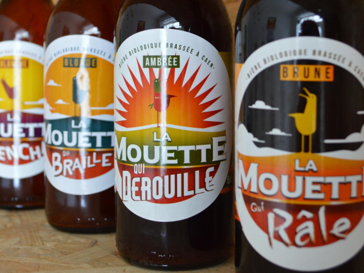 bières normandes brasserie La Mouette
