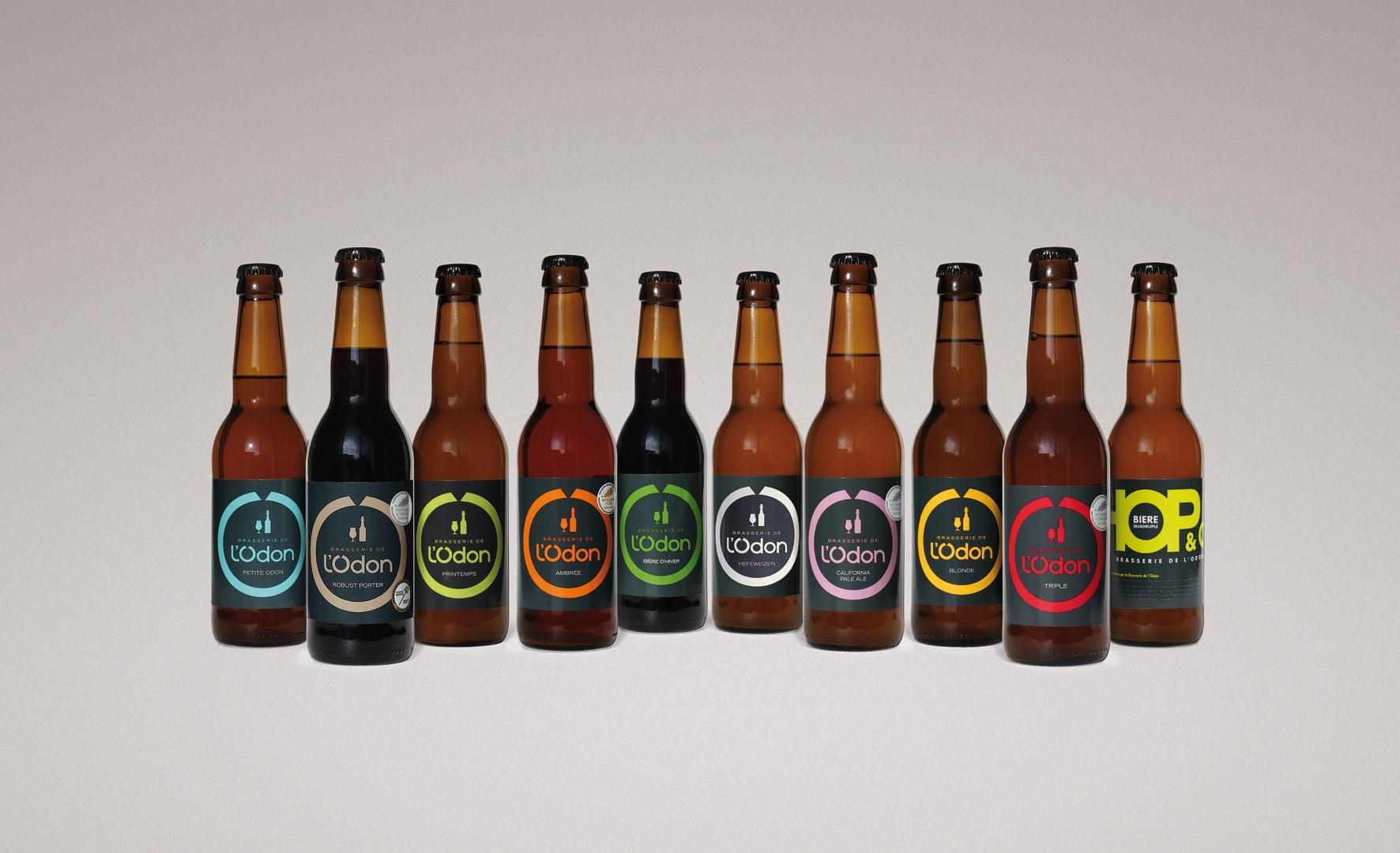 bières normandes brasserie de l'odon