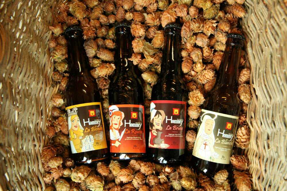 bieres brasserie du hommey