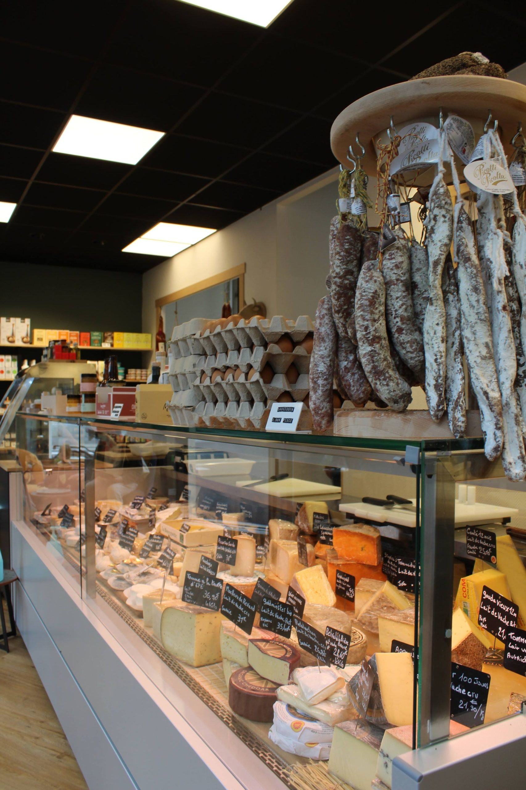 selection fromages